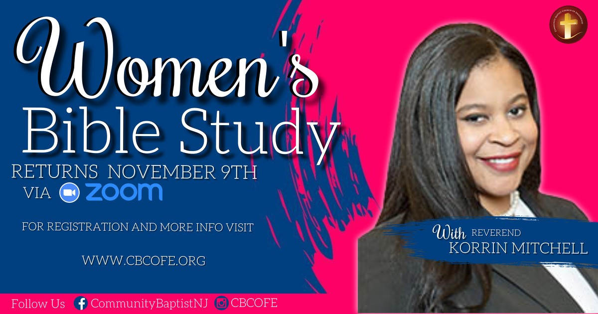 Women's Bible Study - Mondays