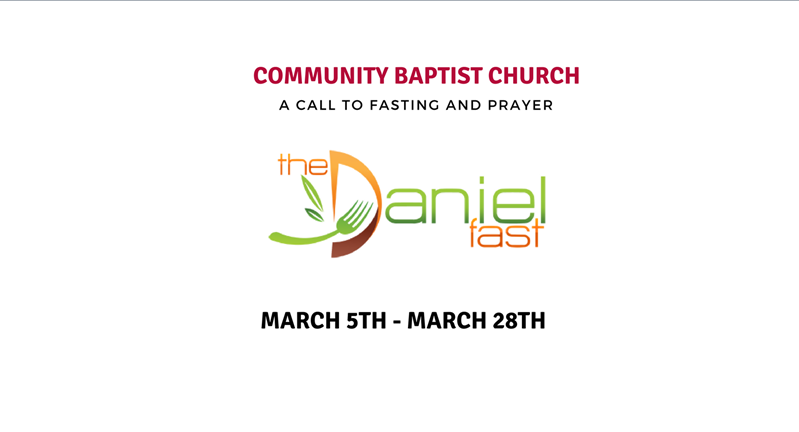 Daniel Fast Instructions