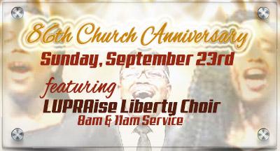 86th Church Anniversary
