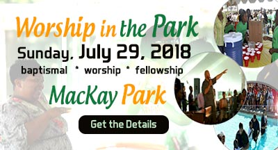 Worship in the Park 7/29/18